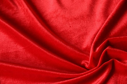 "VELVET STRETCH 60""W - RED"