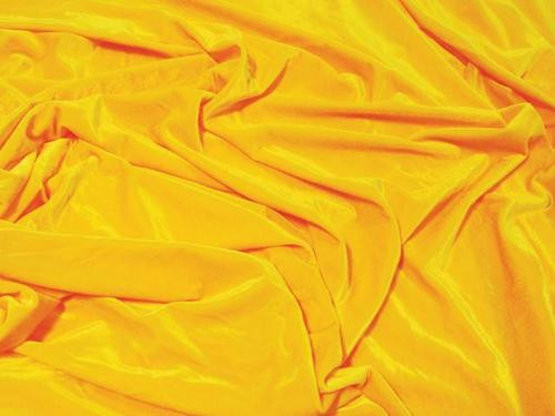 "VELVET STRETCH 60""W - SUNSET YELLOW"
