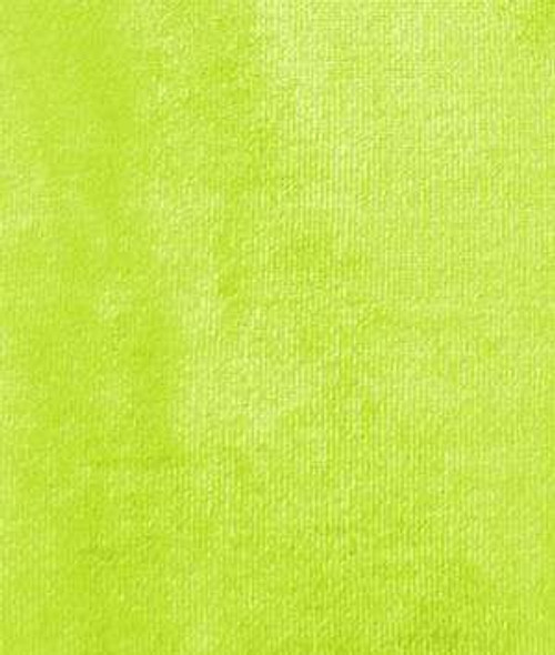 "VELVET STRETCH 60""W - LIME GREEN"
