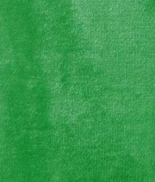 "VELVET STRETCH 60""W - KELLY GREEN"