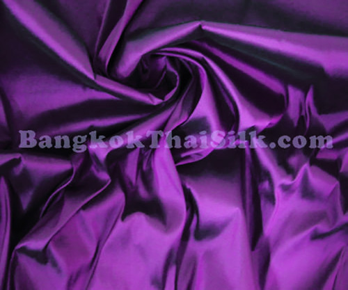 "Royal Purple Faux Silk Taffeta 60""W Fabric"