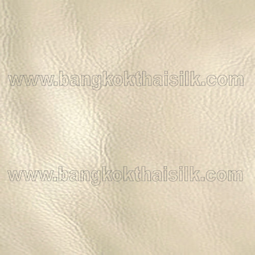 Faux Calf Leather Fabric - Beige