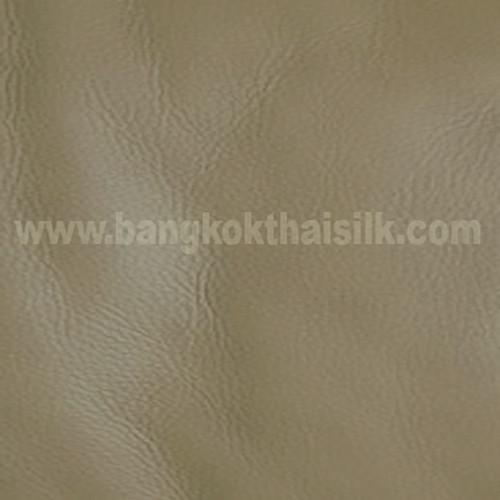 Faux Calf Leather Fabric - Tan Khaki