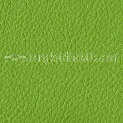 Faux Calf Leather Fabric - Leaf Green