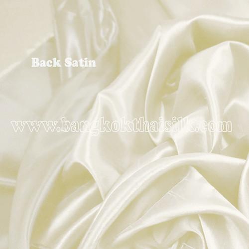 Heavy Silky Dupioni with Satin Back Fabric - Cream Yellow