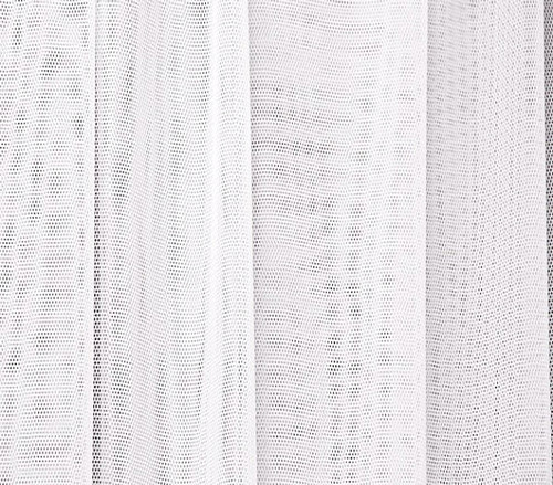 """Soft Net Stretch Tulle 60""""W - WHITE"""