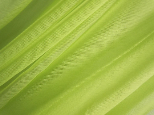 """Soft Net Stretch Tulle 60""""W - Chartreuse Green"""