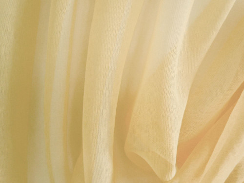"Soft Net Stretch Tulle 60""W - Gold"