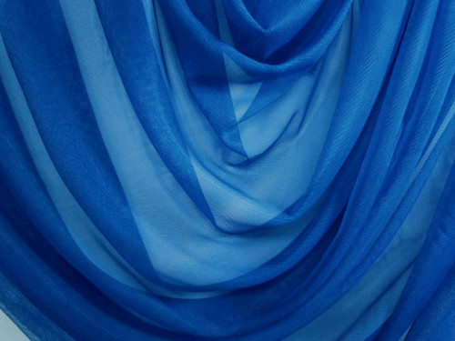 "Soft Net Stretch Tulle 60""W - Dark Royal Blue"