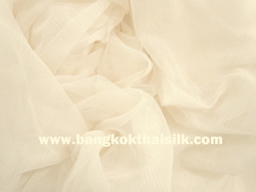 """Soft Net Stretch Tulle 60""""W - NUDE"""