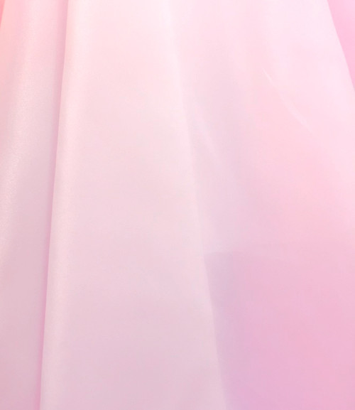 "Organdy Faux Silk Fabric 60""W - PINK"