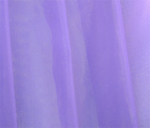 "Organdy Faux Silk Fabric 60""W - LAVENDER"