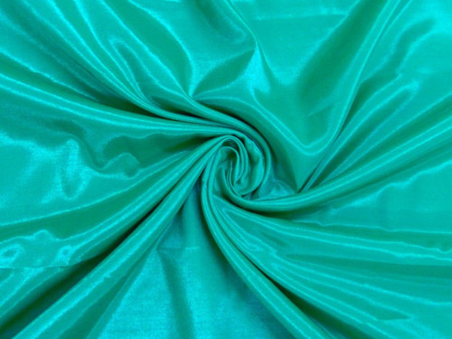 Silkatene Faux Silk Fabric - Sea Green
