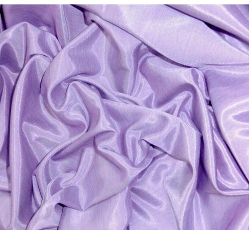 Silkatene Faux Silk Fabric - Lilac Purple