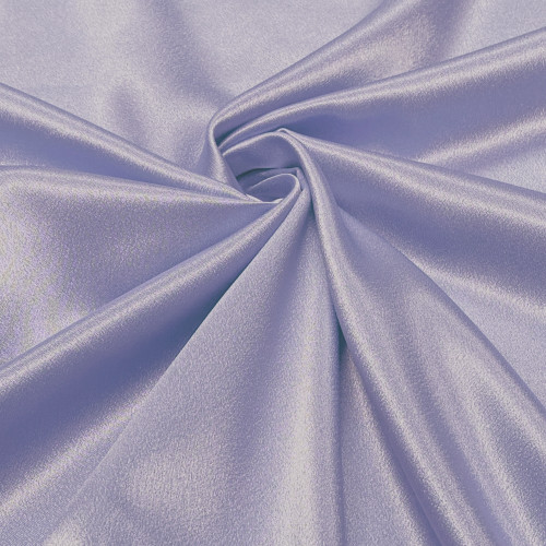 "Duchess Satin Fabric 60""W Heavy Weight - Pale Lilac"
