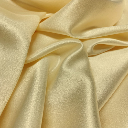 "Duchess Satin Fabric 60""W Heavy Weight - Light GOLD"