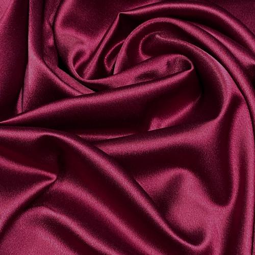 """Duchess Satin Fabric 60""""W Heavy Weight - Burgundy Red"""