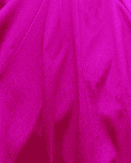 "Italian Faux Silk Fabric 58""W - Hot Pink"