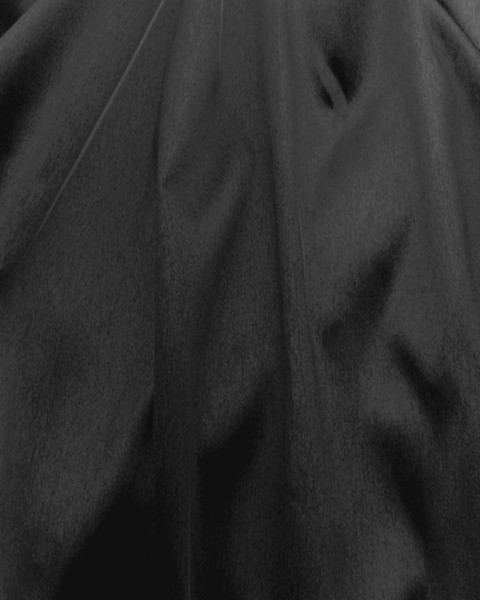 "Italian Faux Silk Fabric 58""W - Black"