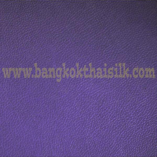 Faux Calf Leather Fabric - Lilac Purple