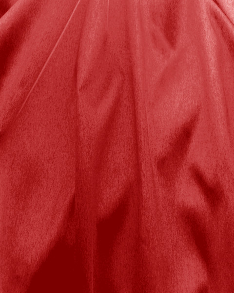 "Italian Faux Silk Fabric 58""W - RED"