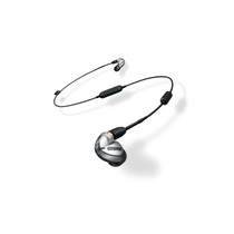 Shure SE425 Sound-Isolating Earphones with Bluetooth and Wired Accessory Cables (Silver)