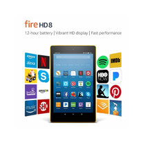 "Fire HD 8 Tablet with Alexa, 8"" HD Display, 32 GB,"