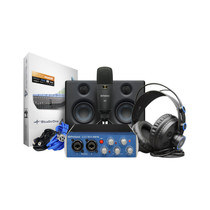 PreSonus AudioBox Studio Ultimate Bundle Complete Hardware and Software Recording Kit with Studio Monitors