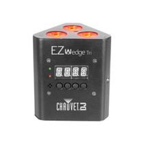 CHAUVET DJ EZwedge Tri Battery-Operated Tri-Color LED Wash Light w/Infared Remote Control