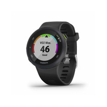 Garmin Forerunner 45, 42MM Easy-to-Use GPS Running Watch with Garmin Coach Free Training Plan Support, Black