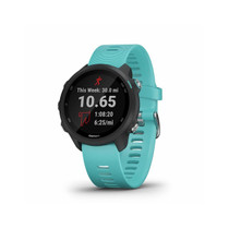 Garmin Forerunner 245 Music, GPS Running Smartwatch with Music and Advanced Dynamics (Aqua)