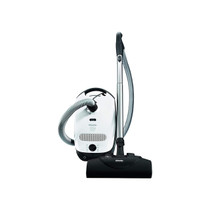 Miele Classic C1 Cat & Dog Canister Vacuum Cleaner (Lotus White)