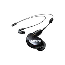 Shure SE215 Wireless Earphones with Bluetooth 5.0 Sound Isolating (Black)