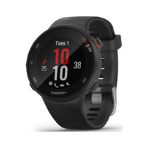 Garmin Forerunner 45S - 39mm Easy-to-use GPS Running Watch with Coach Free Training Plan Support - Black
