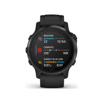 Garmin Fenix 6S Pro - Premium Multisport GPS Watch - Smaller-Sized - Black