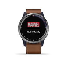 Garmin Legacy Hero Series - Marvel Captain America Inspired Premium Smartwatch - Includes a Captain America Inspired App Experience