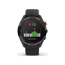 Garmin Approach S62 - Premium Golf GPS Watch - Built-in Virtual Caddie - Mapping and Full Color Screen - Black (010-02200-00)