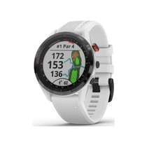 Garmin Approach S62 - Premium Golf GPS Watch - Built-in Virtual Caddie - Mapping and Full Color Screen - White