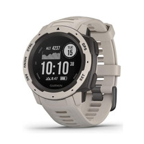 Garmin Instinct - Rugged Outdoor Watch with GPS - Tundra