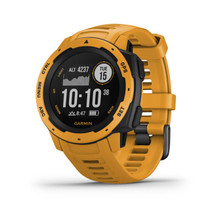 Garmin Instinct - Rugged Outdoor Watch with GPS - Sunburst