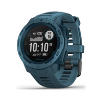 Garmin Instinct - Rugged Outdoor Watch with GPS - Lakeside Blue