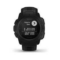 Garmin Instinct - Rugged Outdoor Watch with GPS - Tactical Black