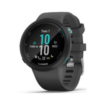 Garmin Swim 2 - GPS Swimming Smartwatch for Pool and Open Water - Slate Gray - with PowerBank, USB Car Charger, USB Wall Charger, EZEE Bundle!