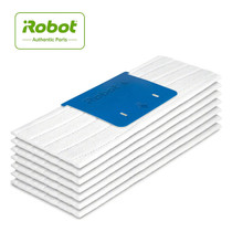 iRobot Authentic Replacement Parts - Braava jet m Series Wet Mopping Pads - (7-Pack) - White - 4632824