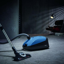 Miele Classic C1 Turbo Team Canister Vacuum Cleaner - Tech Blue