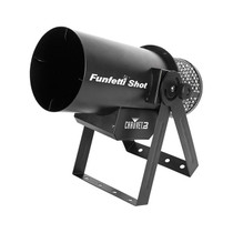 CHAUVET DJ FunFetti Shot Professional Confetti Launcher w/Wireless Remote for Concerts - Parties and Special Events