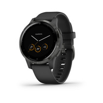 Garmin vívoactive 4S - Smaller-Sized GPS Smartwatch - 40mm (Black)