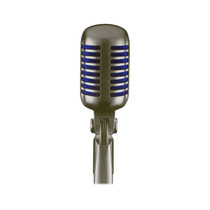 Shure Super 55 Deluxe Vocal Microphone - Silver