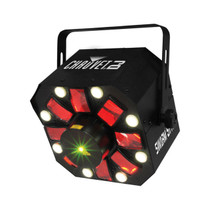 Chauvet DJ Swarm 5FX 3-in-1 LED Strobe - Laser - Derby Effect Light | Laser & Strobe Effects