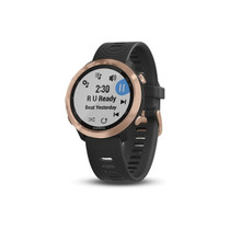 Garmin Forerunner 645 Music - Black with Rose Gold Hardware